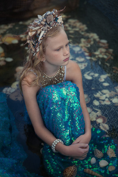 Fine Art Mermaid Portrait | Campbell