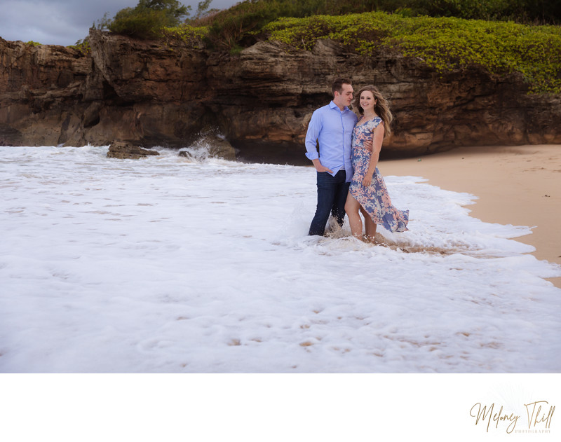 Kailua Engagement Photographer