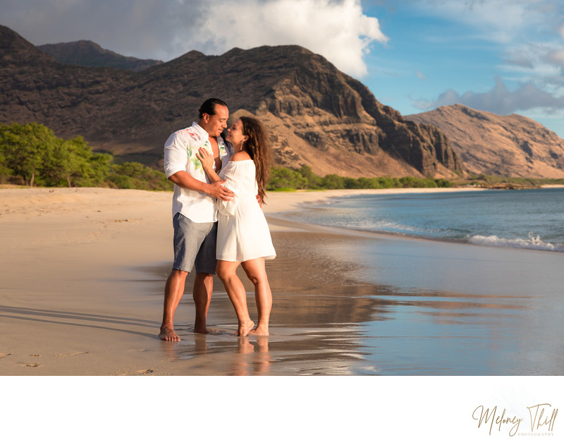 Makua Beach Family Photographer