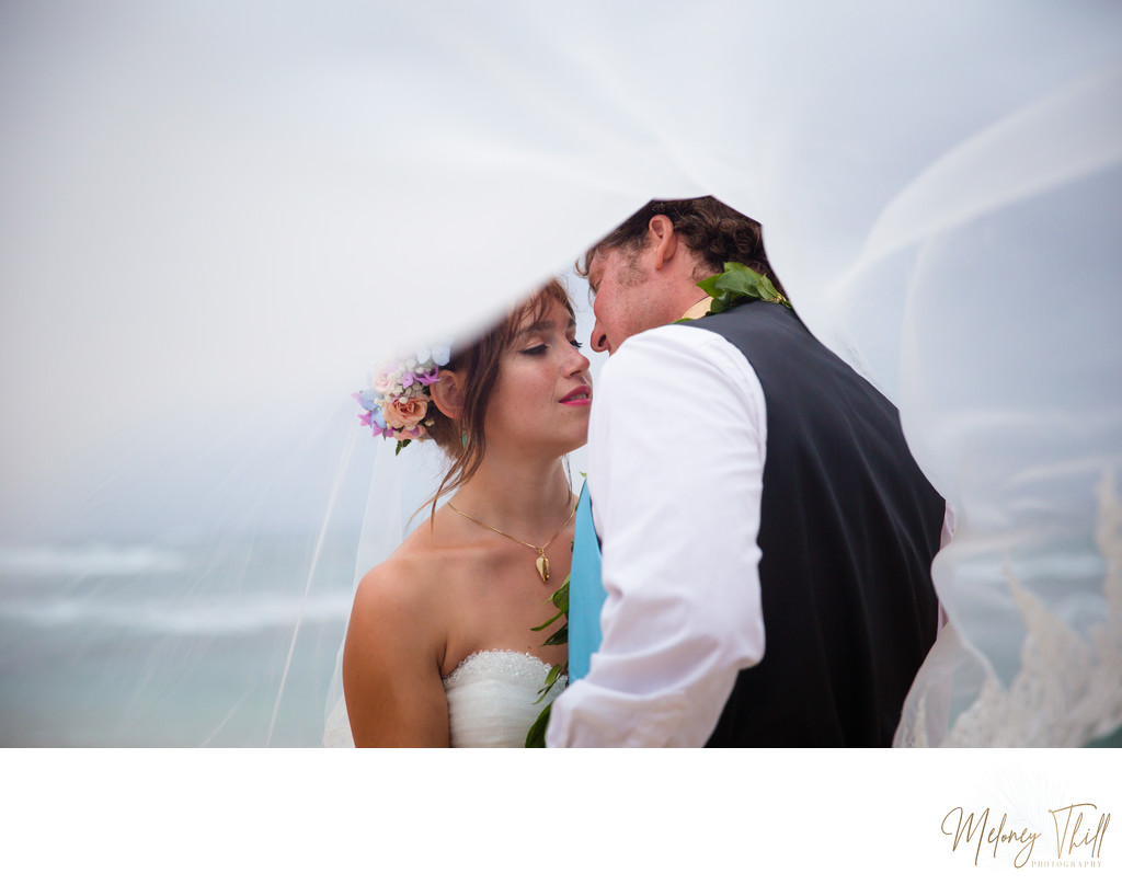 North Shore Hawaii Wedding Photographer