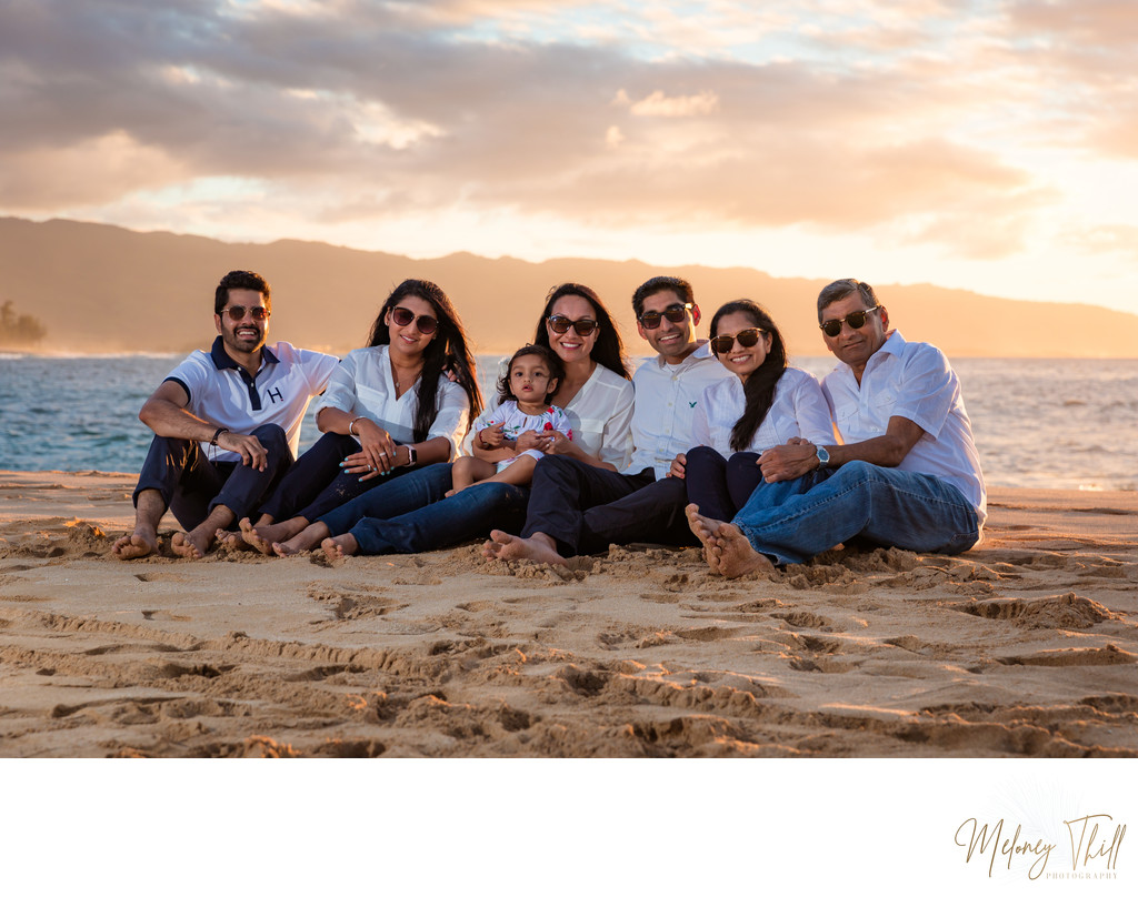 Haleiwa Family Photographer: Meloney Thill portrait photographer