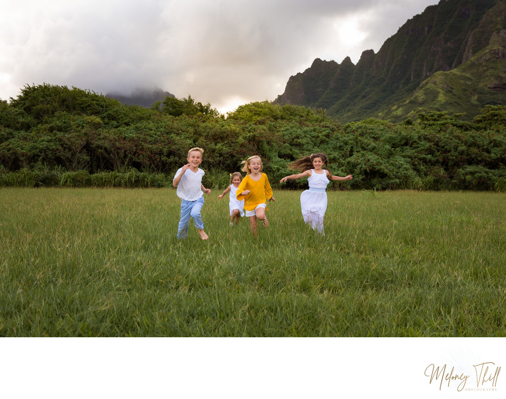 Kualoa Ranch Family photo