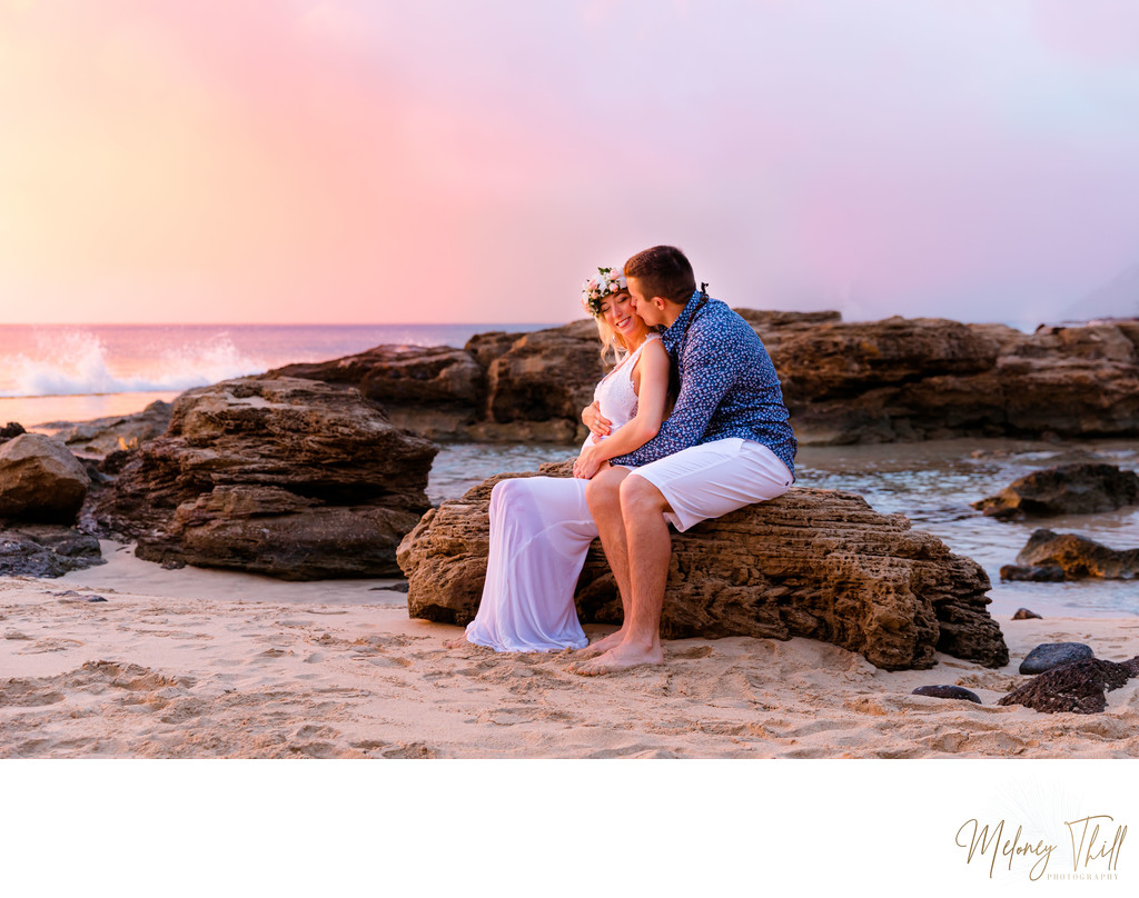 Oahu Best Maternity Photographer
