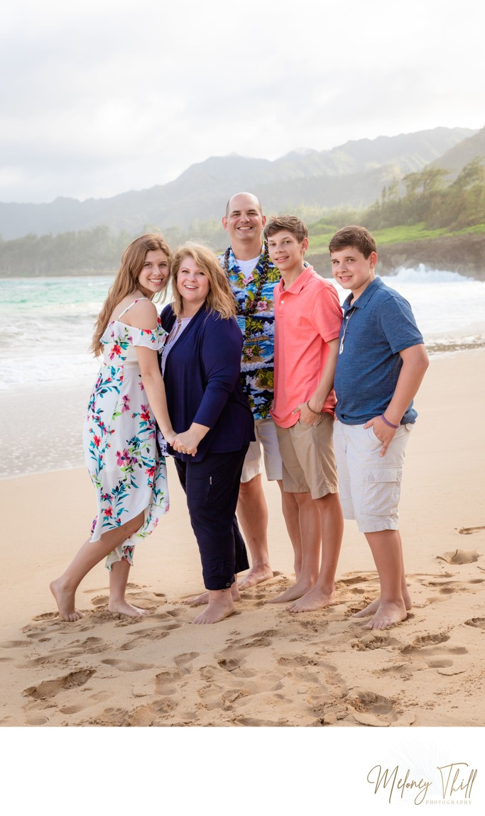 Family Beach Portrait Photos