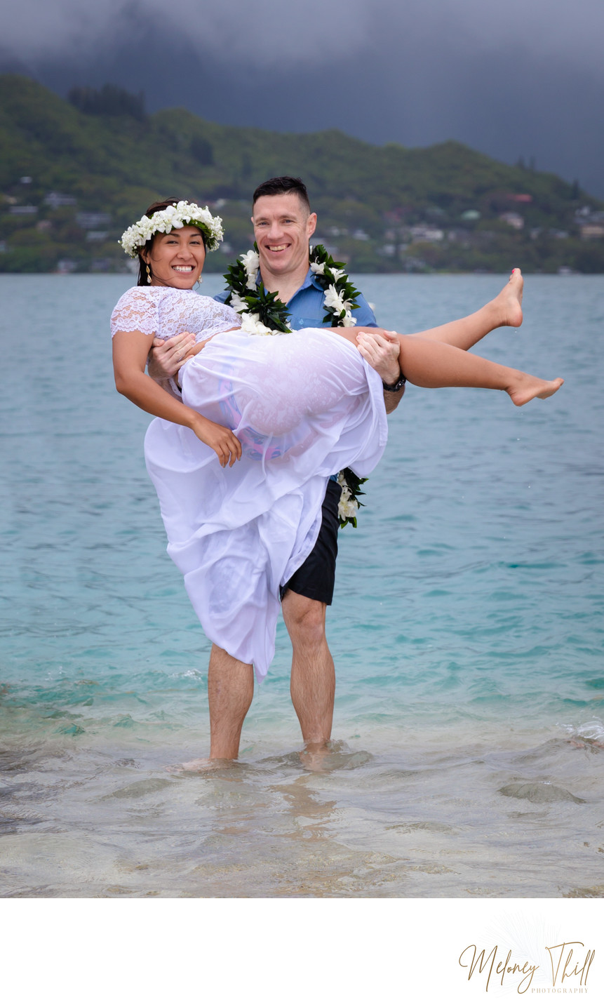 Getting Married at the Kaneohe Sandbar