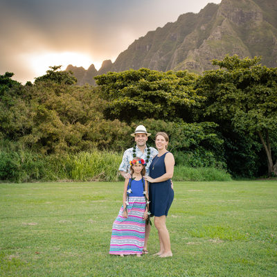 Kualoa Family Pictures