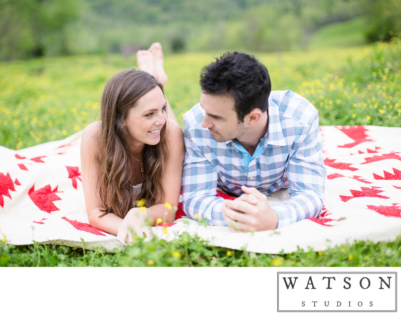 Engagement Sessions in the Smoky Mountains