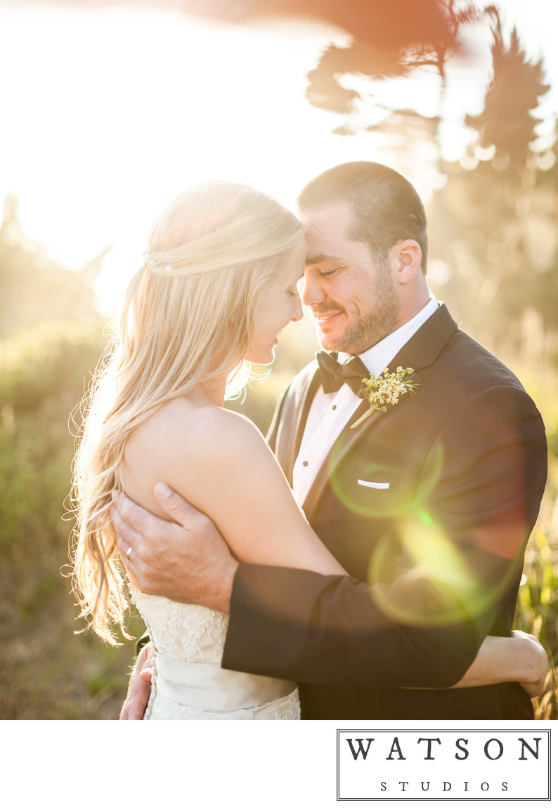 Sunset Wedding Photo by Nashville photographer