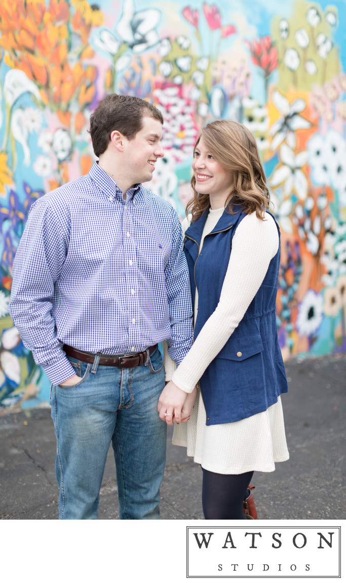 Fun Nashville Engagement Session Locations