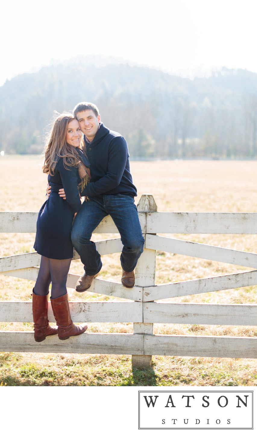 Engagement Photos at Blackberry Farm