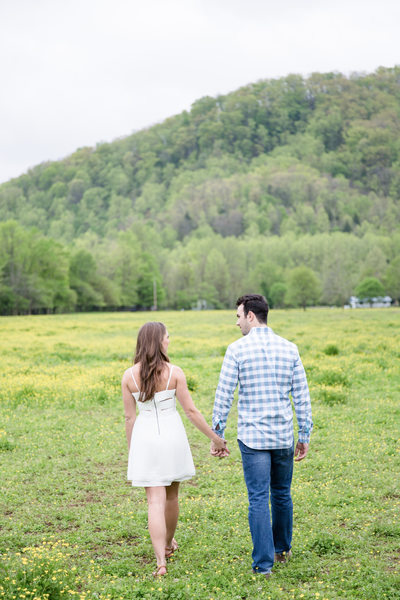 Smoky Mountain Engagement Photos