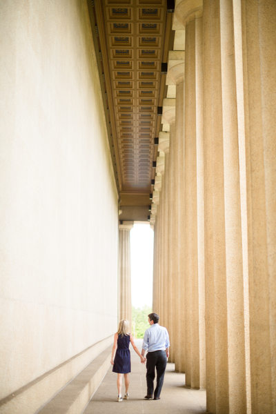 Nashville Centenntial Park Engagement Photos