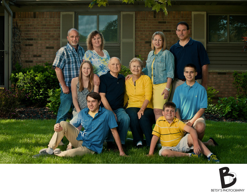 Family Photography at Ann Arbor Home