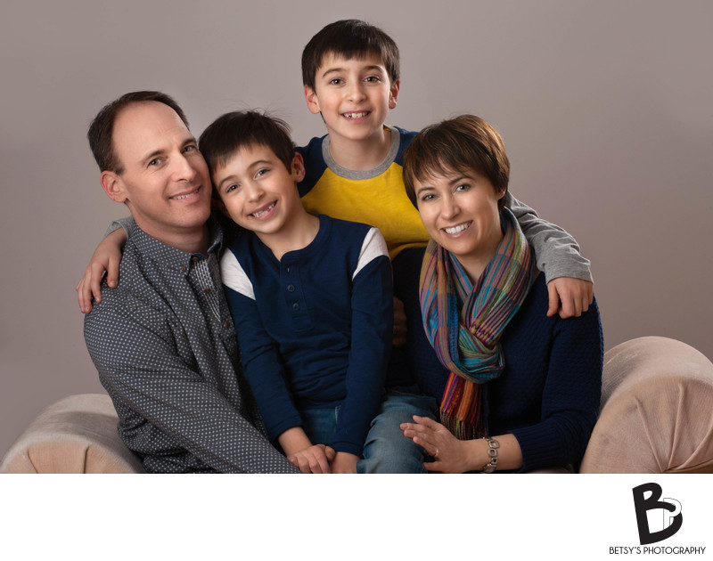 Michigan Family Photographer (Studio Portrait)