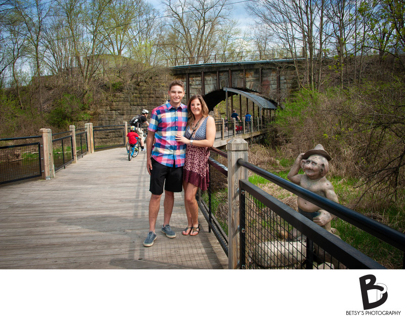 Engagement Photos at Mill Creek Park, Dexter MI