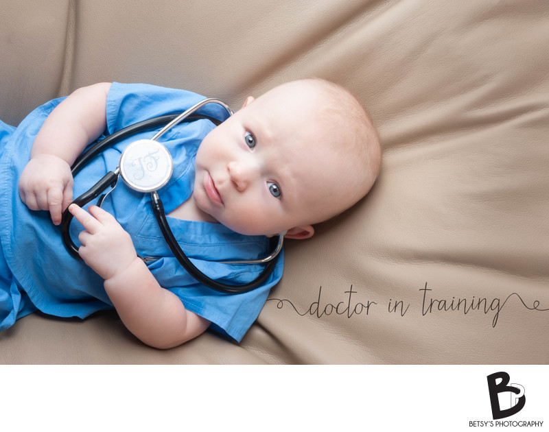 Doctor in Training (Baby's First Year Session)