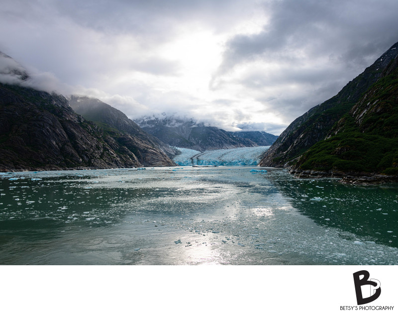 Endicott Arm + Dawes Glacier in Alaska - Fine Art Photo