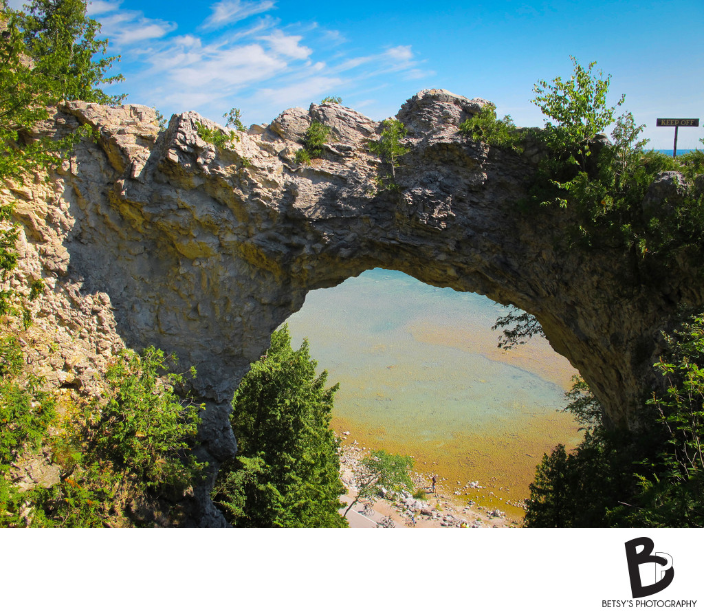Arch Rock (Mackinac Island, MI)