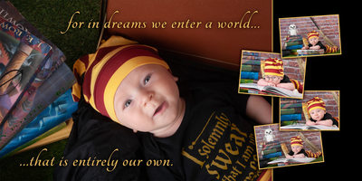 Harry Potter Themed Baby Portrait