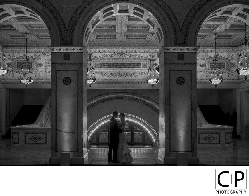 Laura and John Chicago Cultural Center Wedding
