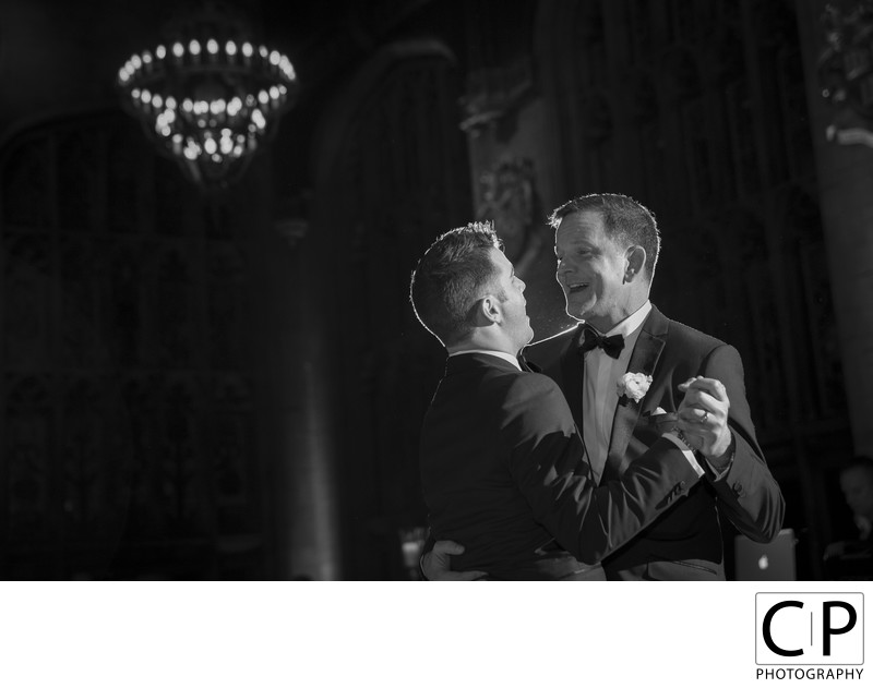 Michael and Jeff University Club of Chicago Wedding Photos