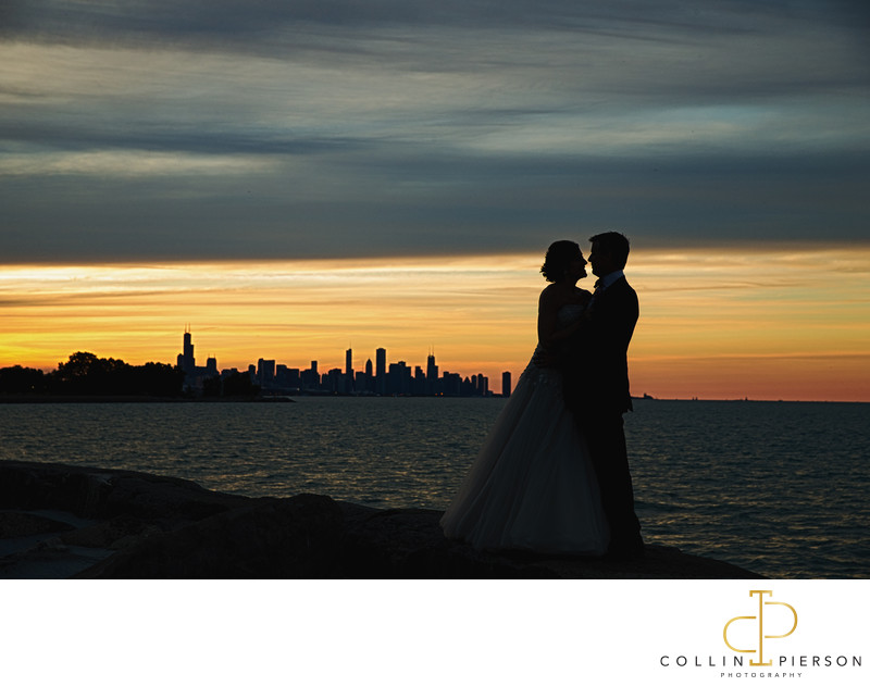 Dina Bair & John Maher Promontory Point Wedding