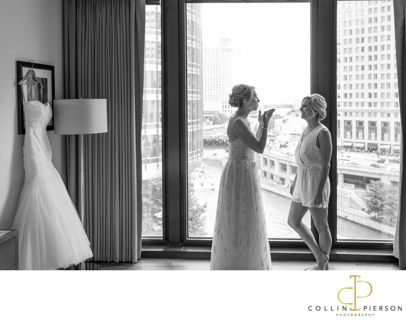 Kelly Jarzynski & Marc Levin Langham Chicago Wedding