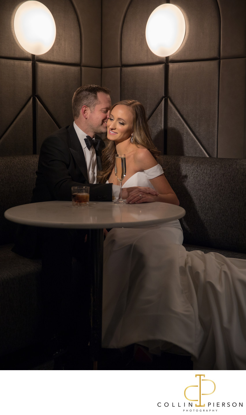 Dana & Ben's LondonHouse Hotel Chicago Wedding