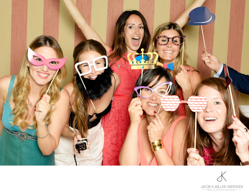 Photobooth wedding