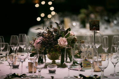 Table setting from a beautiful Bay Area wedding