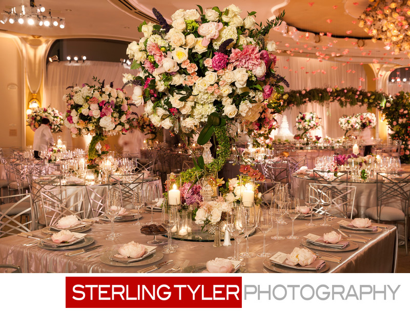 marks garden beverly hills hotel wedding decor