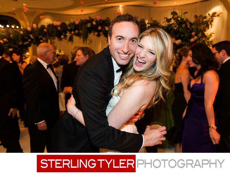 fun wedding photography los angeles crystal ballroom