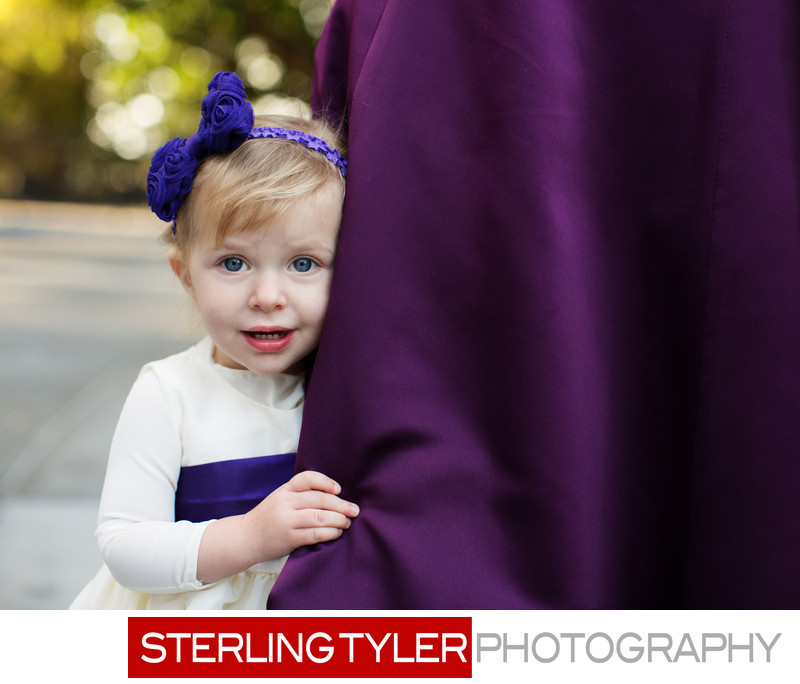 adorable cute baby portrait at jewish wedding