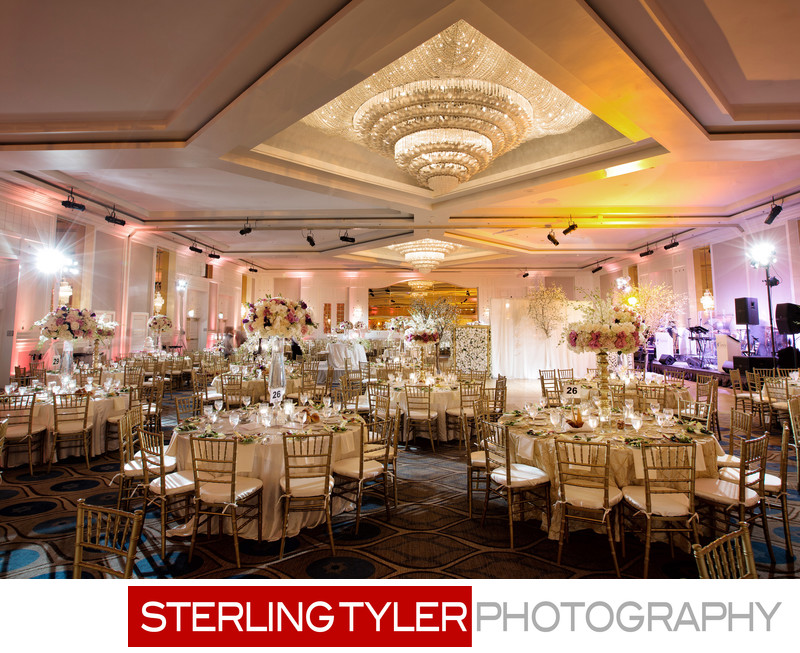 sheraton universal wedding ballroom decor