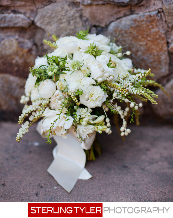 beautiful bridal flowers bouquet napa valley photographer
