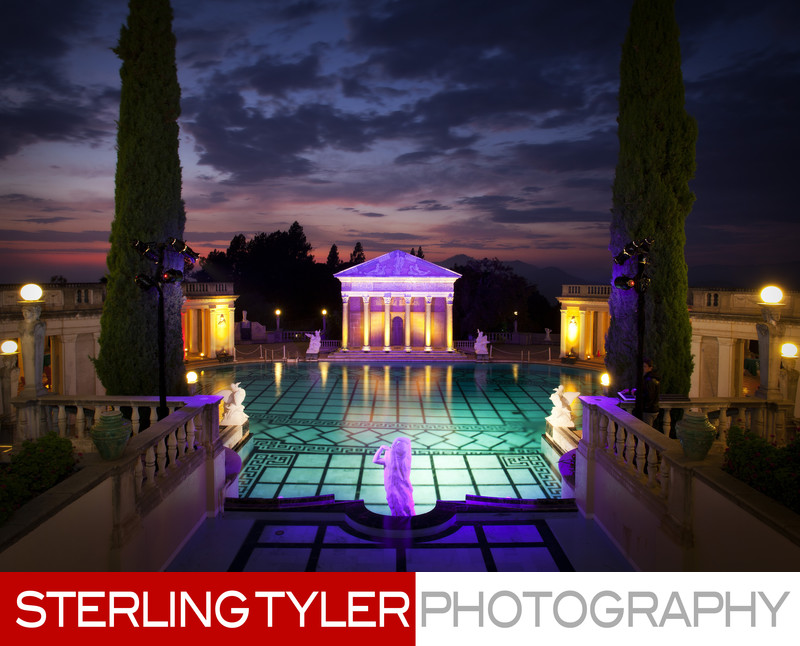 hearst castle corporate event photographer los angeles