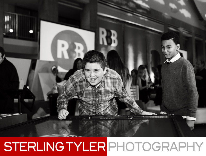 bar mitzvah skirball center los angeles airhockey