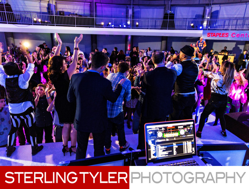 check one 2 entertainment skirball center bar mitzvah photography