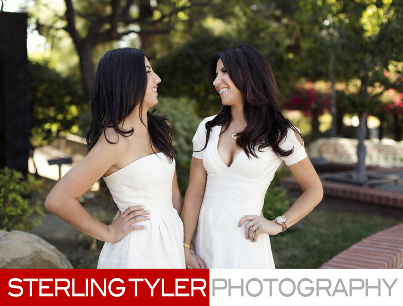 laughing bat mitzvah portrait los angeles