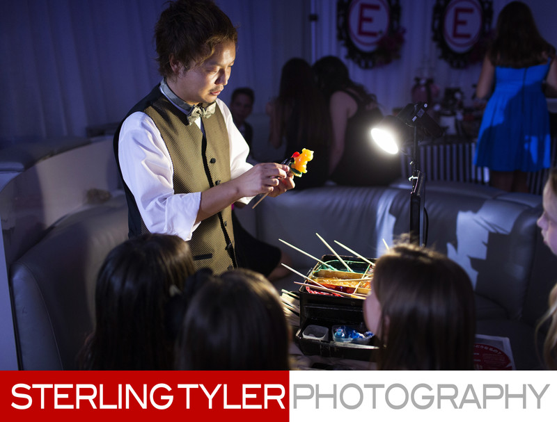 the candy artist shan s ichiyanagi at bat mitzvah in los angeles