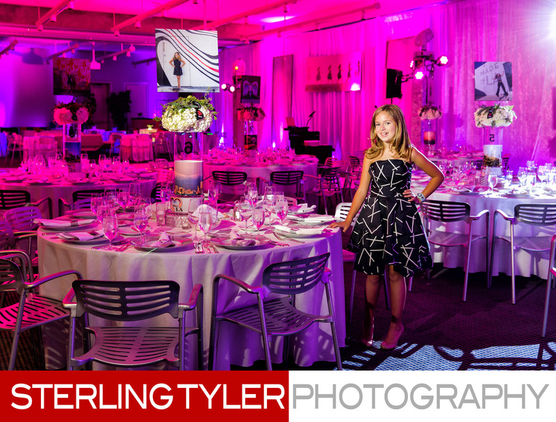 bat mitzvah decor details photography king dahl event design
