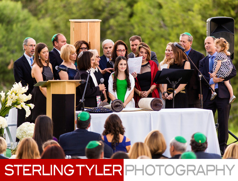 outdoor bat mitzvah service in los angeles