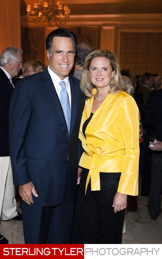 Mitt and Ann Romney Political Photographer Los Angeles