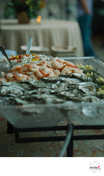 Shrimp and oyster bar in Truckee special event