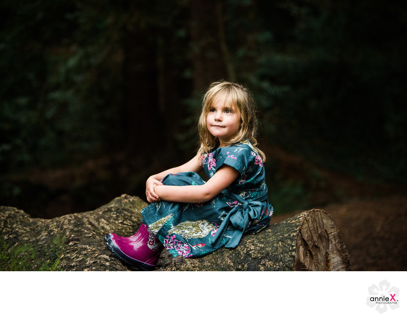Fun Mill Valley child photographers