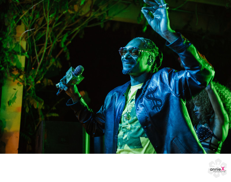 Snoop Dogg performs at a  home in Reno