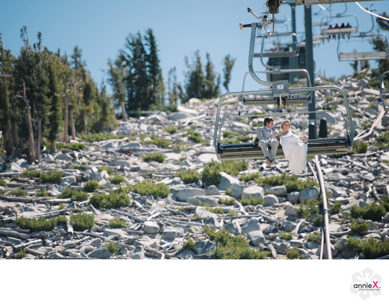 Heavenly ski resort wedding photographer