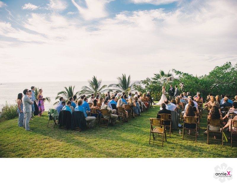 Ceremony at Villa del Oso in Sayulita