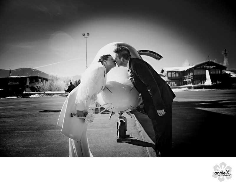 private jet wedding photographer