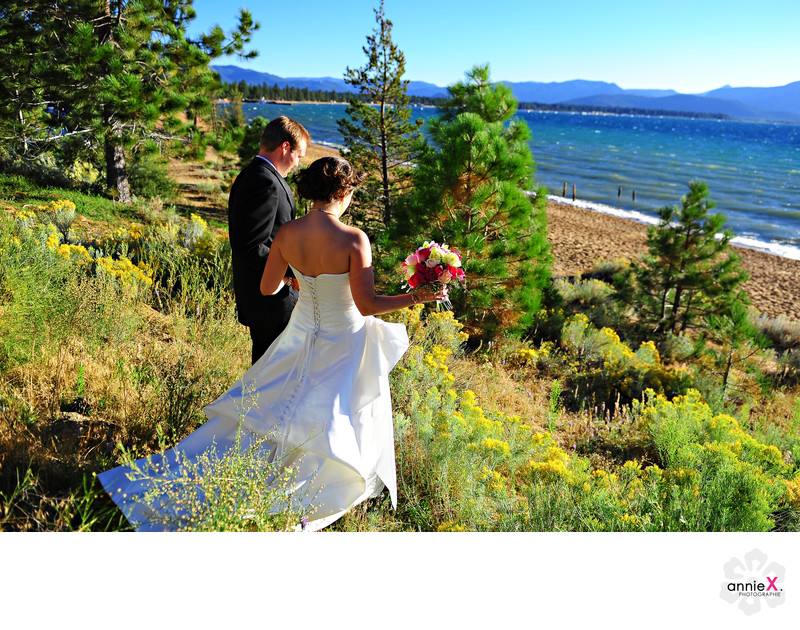 Wedding Photographer at Edgewood Tahoe
